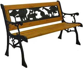 Amazon Com Cast Iron Benches Patio Seating Patio Lawn Garden