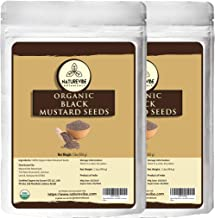 Organic Black Mustard Seed (2lb) (2 unit of 1lbs each) by Naturevibe Botanicals, Gluten-Free & Non-GMO