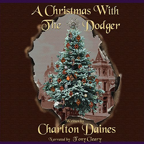 A Christmas with the Dodger audiobook cover art
