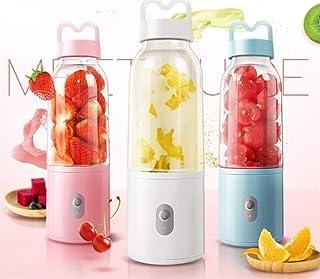 Hefacy Mixeur électrique portable - Extracteur de fruits - Adaptateur d'alimentation USB - 9 s - 18 000 tr/min - Couleur :...