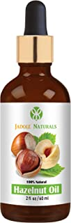 Jadole Naturals Hazelnut Oil For Face Body And Hair 60 ml, Pack of 1