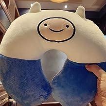 Lovely Adventure Time Cotton Plush U vorm nekkussen auto reizen Thuis Pillow Nap Cartoon U vorm Pillow (4) zcaqtajro (Colo...