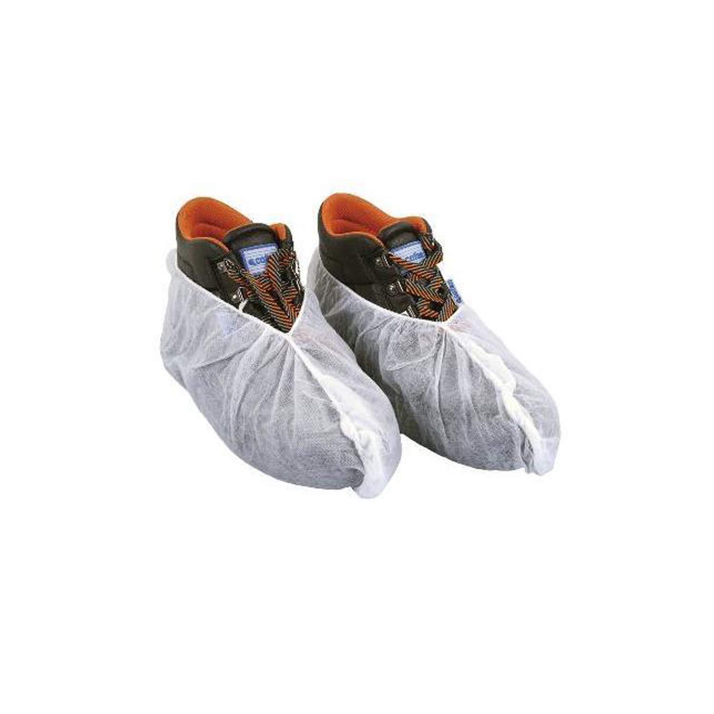KFMJF Pack de 300 Cubrezapatos Desechables Transpirables Fabricado en España. Cubre Zapatos Hipoalergénicos. Fundas Protector de plástico para Zapato Ajustable.Sin Olor. NO Tejido 100% Reciclable.: Amazon.es: Hogar