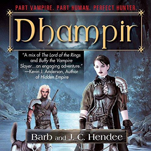 Dhampir audiobook cover art