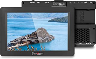 PortKeys HS7T 7 Inch 1920x1200 On Camera Field Monitor 1200 Nit with HLG/3D LUT, 3G-SDI/4K HDMI in/Out Put, Support Wirele...