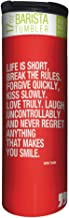 Tree-Free Greetings Mark Twain Quote Vacuum Insulated Travel Coffee Tumbler, 17 Ounce Stainless Steel Mug, Inspirational Coffee Lover Gift (BT21978)