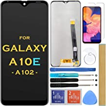 """Screen Replacement LCD Display Touch Digitizer Assembly for Samsung Galaxy A10e A102 SM-A102U S102DL A102U1 A102W 5.83"""" (B..."""