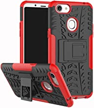 Shockproof Compatible with OPPO F5 Case, Personality Creativity Hyun Pattern Dual Layer Hybrid Armor Kickstand 2 In 1 Shockproof Case Cover Compatible with OPPO F5 / OPPO F5 Youth (Color : Red)