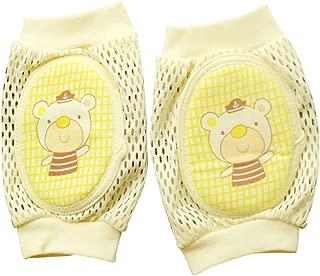 1 Pair Kids Crawling Elbow Infants Toddlers Girl Boy Baby Knee Pads Protector Safety Mesh Kneepad Leg Warmer