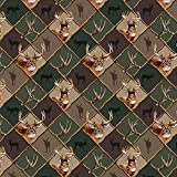 GRAPHICS & MORE Deer Antler Hunting Hunter Camouflage Diamond Premium Roll Gift Wrap Wrapping Paper