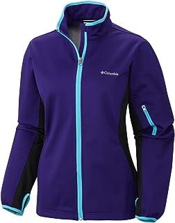 Columbia Sportswear Women's Comin' in Hot Full Zip Jacket, Hyper Purple/Atoll, Medium