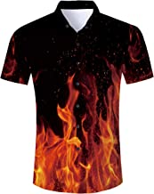 Leapparel Unisex Short Sleeve 3D Digital Printed Personalized T Shirts Tees