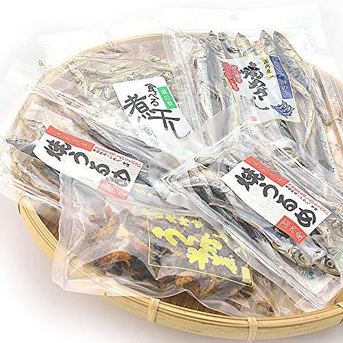 うめ海鮮 国産 海鮮珍味 干物セット(4種類 5個入り)メール便発送[干物・燻製]