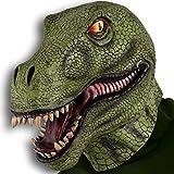 Maschera gigante dinosauro in lattice per travestimento animali