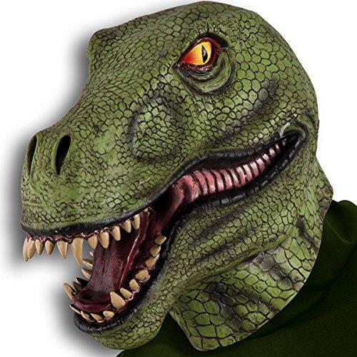 Masque de dinosaure Adulte Taille Unique - Deguisement Halloween - 249