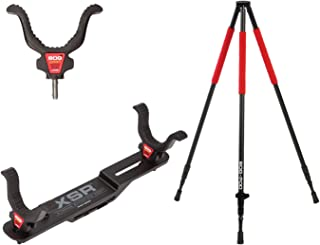 BOG Super Steady Tripod Kit with Lightweight Construction, Easy Assembly and Multiple Setup Options for Hunting, Shooting and Outdoors
