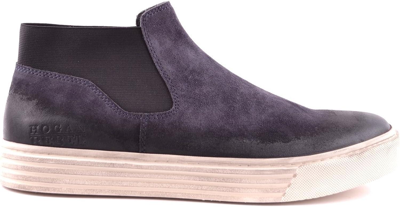Hogan HXM2060S7001OTU810 Herren Blau Wildleder Slip on Sneakers Sneakers Sneakers B07K1PNF66  02b732