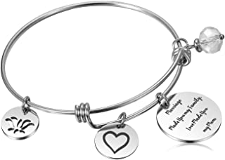 Hazado Mother-in-law Gifts Stepmom Bangle Bracelet Mother of the Groom Gift from Daughter In Law Bride for Wedding Birthday Mother's Day