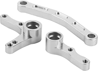 för REDCAT 1/10 XTE fjärrkontrollbil, styrkombinationssats, lastbiltillbehör Truck Buggy Car Upgrade Parts,(Silver)