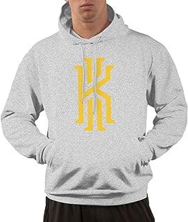 Men's Pullover Hoodie Kyrie k Irving Logo Shirts Shirt Hooded Sweatshirt Hoodies for Men Boys Outdoor Sport Coat Tops Black