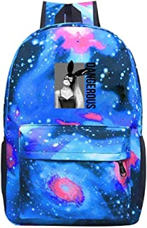 Starry Sky Fashion Backpack School Bag Aria-na Dangerous Woman Gran-de Travel Daypack