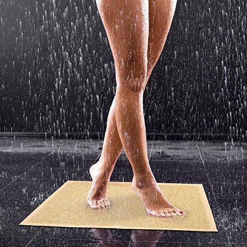 Unbekannt TRI Duschmatte Aqua, Duscheinlage Badematte Anti-Rutsch-Matte, rutschfest & wasserdurchlässig, Kunststoff, 59 x 40 cm