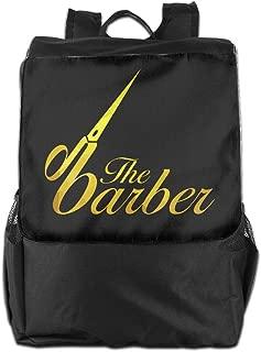 Louise Morrison The Barber Hairdresser Women Men Laptop Travel Backpack College School Bookbag