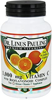 Dr. Linus Pauling Vitamin C with Bioflavonoid Complex - 1000 mg - 90 Caplets