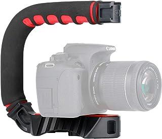 Ulanzi U-Grip Pro gopro 手持ちスタビライザー Gopro低い位置の撮影 DVビデオ 超軽量 ミニ 手振れ防止ハンドルグリップ 携帯カメラ用ビデオ撮影