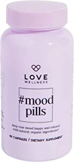 Love Wellness #MoodPills - Have The Blues? Tricky Periods? Lack of Sleep? - Natural and Organic Mood Enhancement