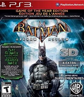 Batman Arkham Asylum: Game Of The Year (B003EV6NCG)   Amazon price tracker / tracking, Amazon price history charts, Amazon price watches, Amazon price drop alerts