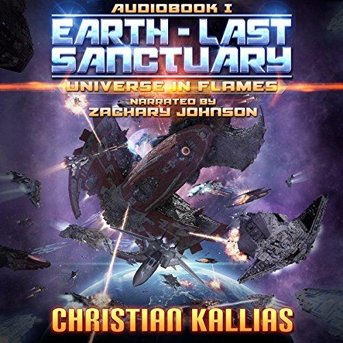 Earth Last Sanctuary audiobook cover art