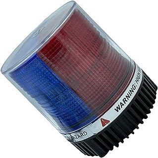 FAVOMOTO Conduziu a Luz Do Farol Vermelho Azul Magnético Led Luzes para Carros Caminhões Trator Utv Segurança Beacon Strob...