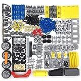 12che Parti Technics Parti della Biella del Pneumatico del Perno di bloccaggio degli ammortizzatori del Cambio per Lego Technics, Lego Technics Auto, Lego Technic Veicolo