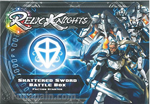 Relic Knights: Dark Space Calamity: Shattered Sword Paladins Battle Box
