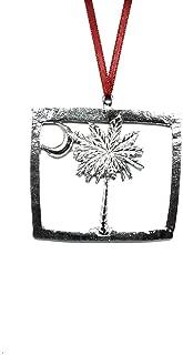 1029 Flag of South Carolina SC Ornament Pewter