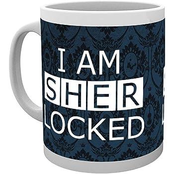 Taza Sherlock Sherlocked Dark GB Eye