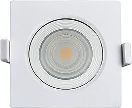 Spot Led 3000K Quadrado, 100-240V não Dimerizável, Black+Decker, Bds1-0800-03, 10 W