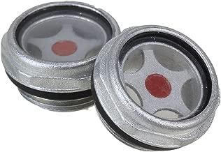 Fitting 47/mm M Gewinde Kunststoff Geh/äuse /Öl Schauglas