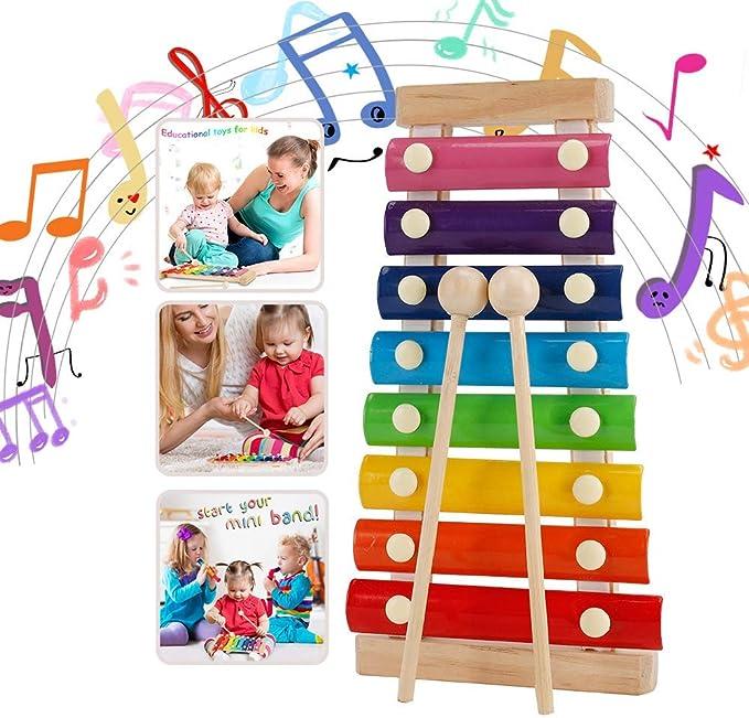 529 opinioni per Strumento Xilofono, Xilofono Bambini,Musical Giocattoli Xilofono,per Bambini di