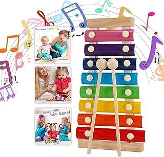 WELLXUNK Instruments de Musique en Xylophone,Jouet Xylophone Musique,Un Grand Jouet Musical pour Les Enfants- Parfait pour...