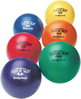 S&S Worldwide Gator Skin Dodgeballs (Set of 6)
