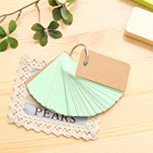 Ronshin Office For Lovable Pure Color Notepaper Loose-leaf Notebook Ring Button Message Paper Student Supplie green 90 sheets
