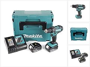 Taladro atornillador 18V-LI 5Ah 2baterías ddf482rtj Makita