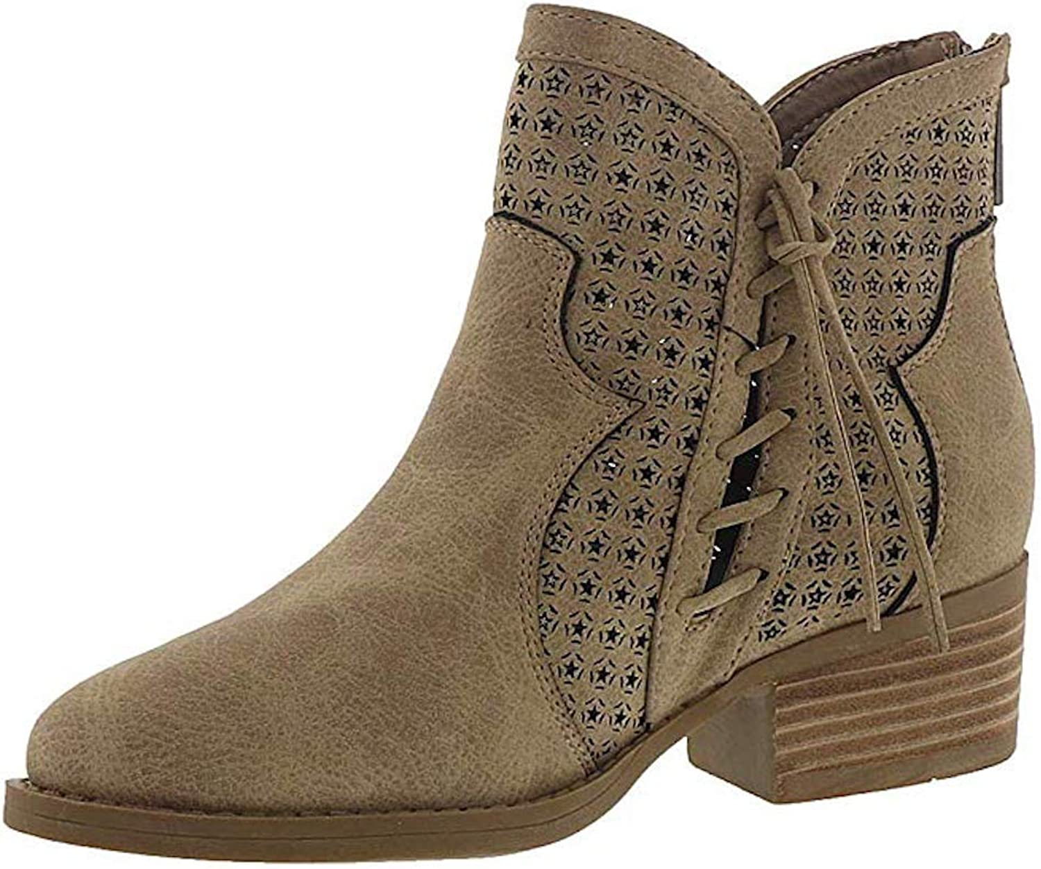 Very G Womens MATA Closed Toe Ankle Fashion Boots