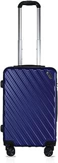 Cross Royal Polycarbonate 57 cms Blue Hardsided Cabin Luggage (ACO2352323_3-S86)