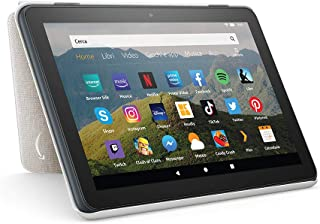 Custodia per tablet Amazon Fire HD 8 (compatibile con dispositivi di 10ª generazione, modello 2020), grigio chiaro