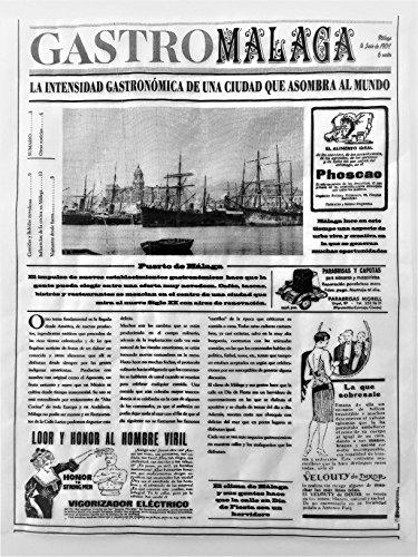 GRUPOHORECA DISTRIBUCION CANAL HORECA Papel Periódico Alimentario 25X31 Antigrasa - 500 Unidades Mod.-Gastro Málaga