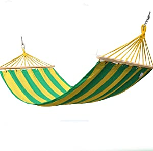 RUIMA Large Hammock Chair Relax Hanging Swing Chair Cotton Weave for Superior Comfort  amp  Durability Perfect for Indoor Outdoor Home Bedroom Patio Deck Yard Garden