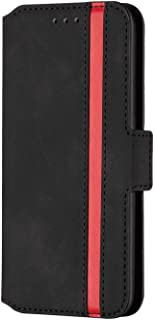 Flip Case for Samsung Galaxy S9 plus S9+, black PU Leather Wallet Cover (Compatible with Samsung Galaxy S9 plus S9+)